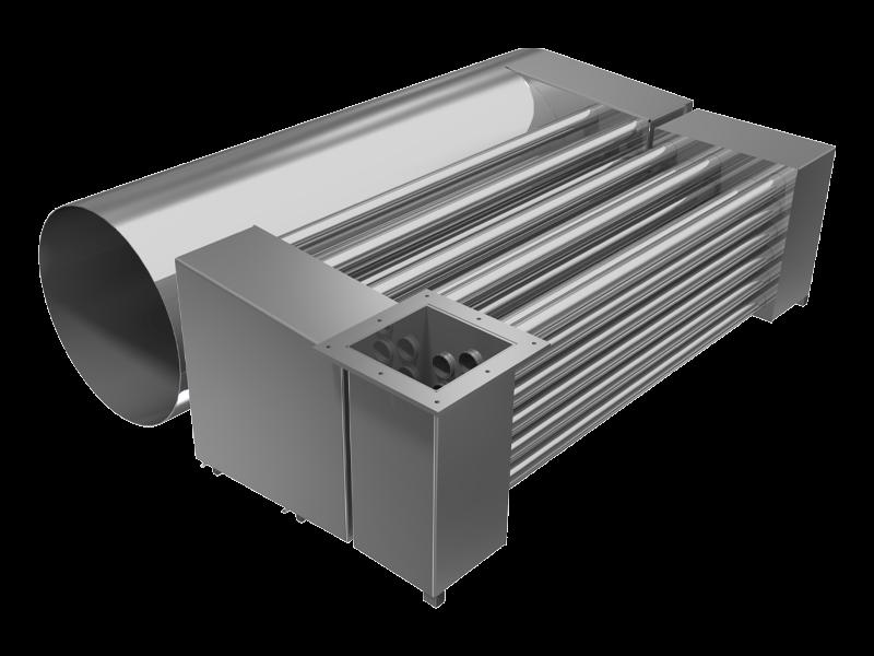 prodotto scambiatori per generatori d'aria calda