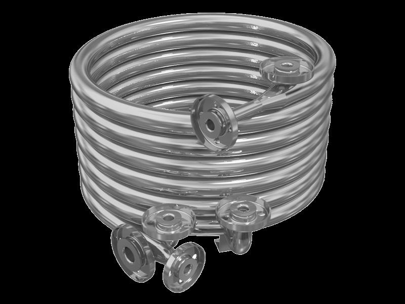 prodotto scambiatori di calore a fascio tubiero coassiale